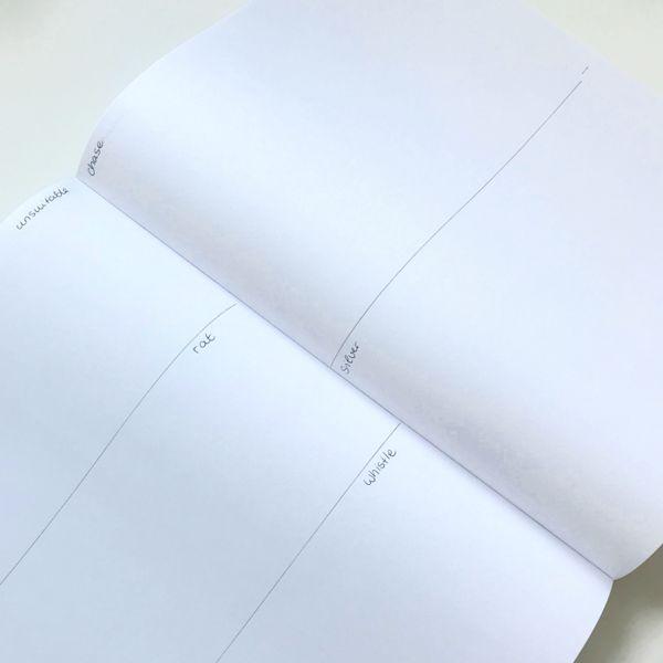 DIY Buch mit 500 Zeichenthemen (unterteilte Segmente) | Laura Perlitz