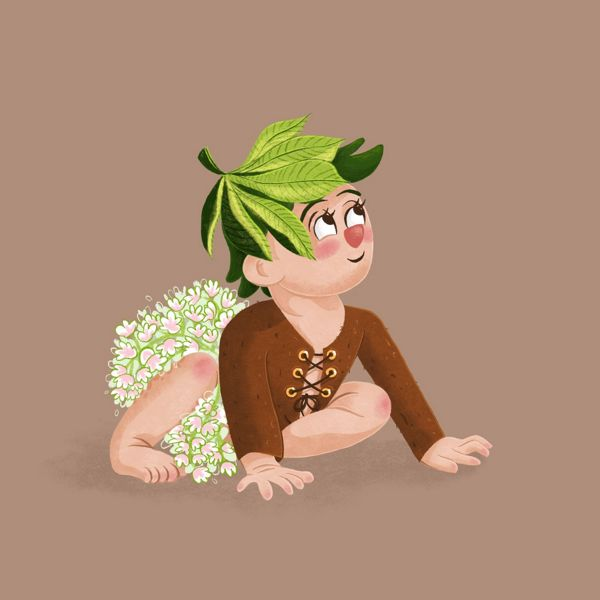 Chestnutlet- illustration project - character design - concept art - Laura Perlitz