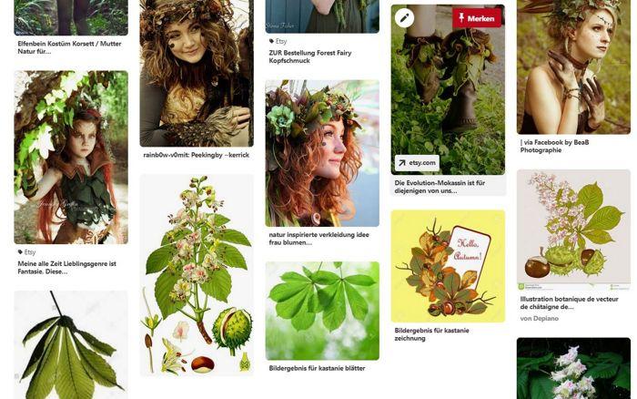 Pinterest Board - Inspiration for illustration project - Chestnut people